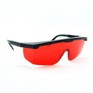 Laserbril voor rode straal