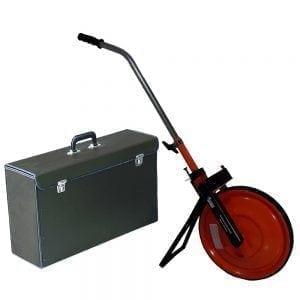 Meetwiel spaakmodel in koffer