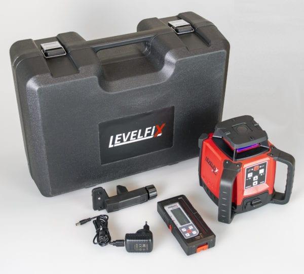 Levelfix 550H Roterende bouwlaser horizontaal + mm-ontvanger