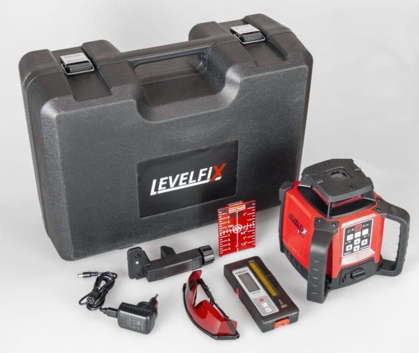 Levelfix 550HV Allround bouwlaser horizontaal/verticaal