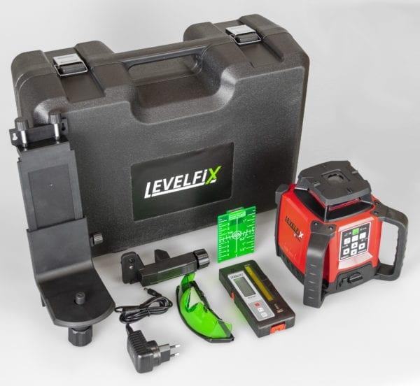 LEVELFIX 550HVG Roterende bouwlaser horizontaal/verticaal
