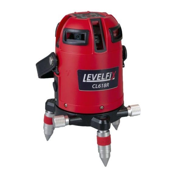 LEVELFIX CL618R Automatische multilijnlaser 360° H / 4V