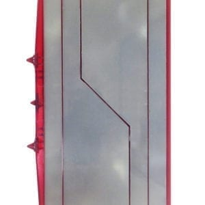 Scanplaat V Rood RL-VH2