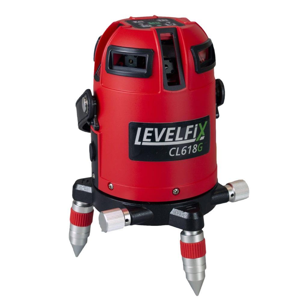 cl618 vrij 1024x1024 - LEVELFIX CL618G Automatische multilijnlaser 360° H / 4V GROEN