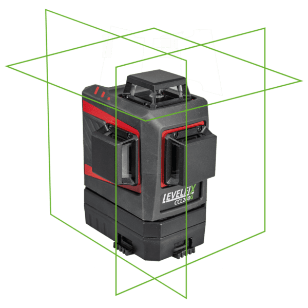 LEVELFIX CCL260G 3D Lijnlaser 3×360° Groen