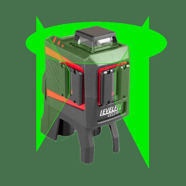 LEVELFIX CCL210G multilijnlaser 360° Groen