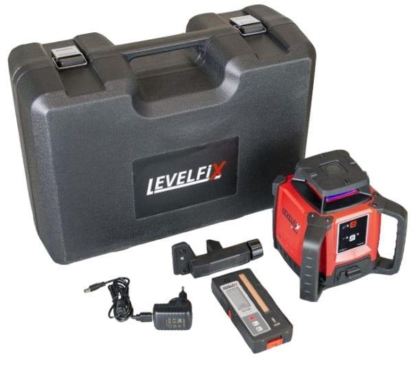 Levelfix 550Hb Basis bouwlaser horizontaal + RLD100 ontvanger